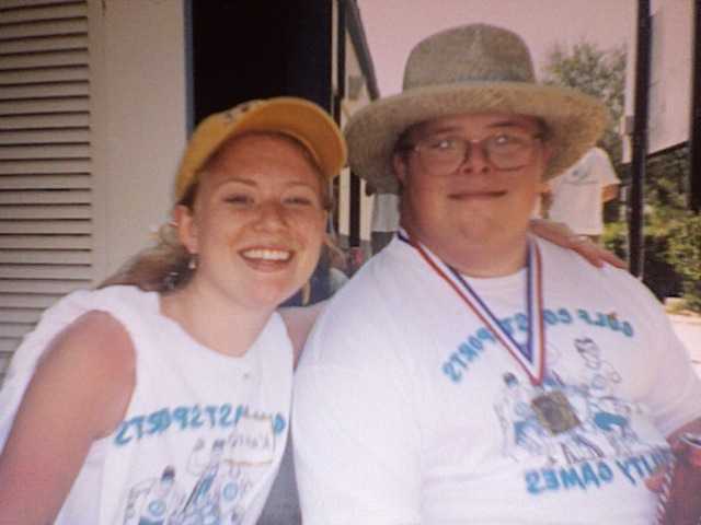 Me and Matt at the Special Olympics